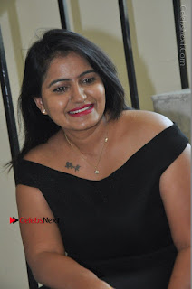 Telugu Actress Swathi Reddy Latest Stills in Black Gown  0066.JPG