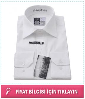 Kişiye Özel Mesaj Nakışlı Gömlek
