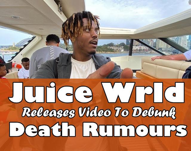 Juice Wrld Is Alive, Releases Video To Debunk Death Rumours