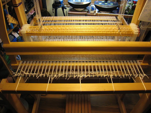 Warping A Floor Loom - Year of Clean Water