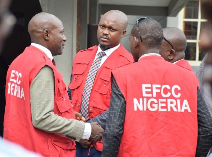 JUST IN! Security Agents Ransack Suspended EFCC Boss, Ibrahim Magu's Home