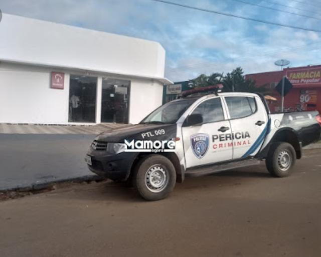 Ladrões deixam Nova Mamoré sem internet e roubam agência do Bradesco; banco não informou valores
