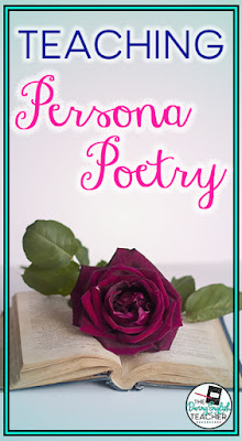 Teaching Persona Poetry in the Secondary ELA Classroom