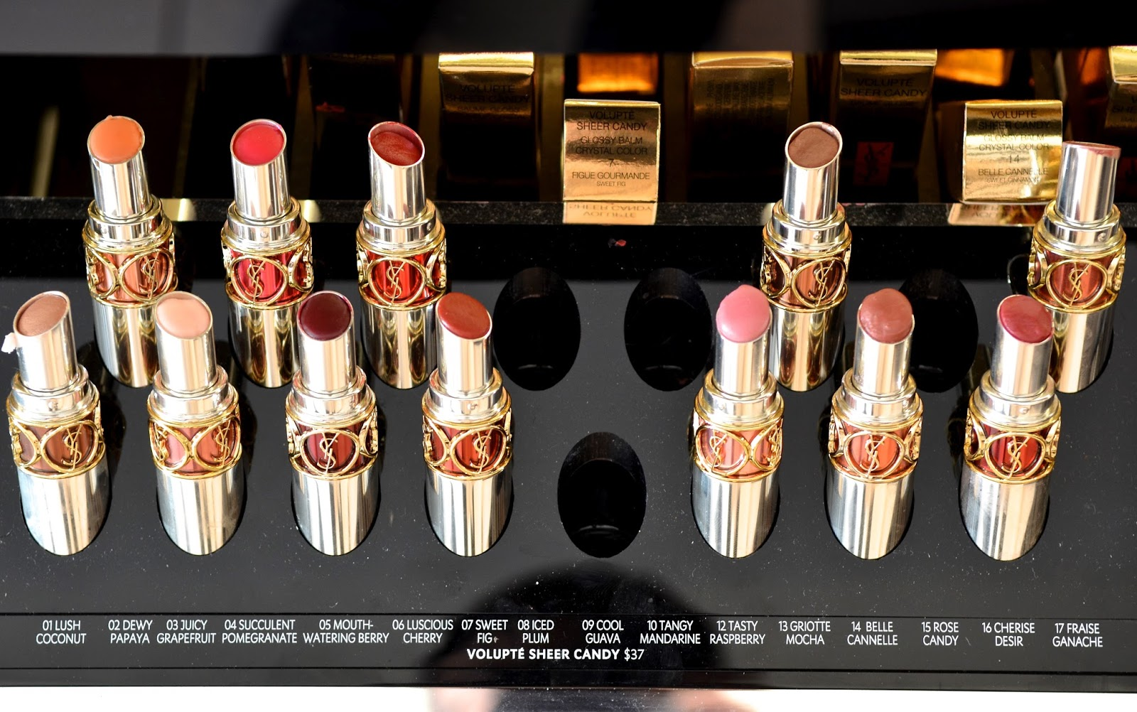 Ysl Rouge Volupte Sheer Candy Swatches Amp Review By