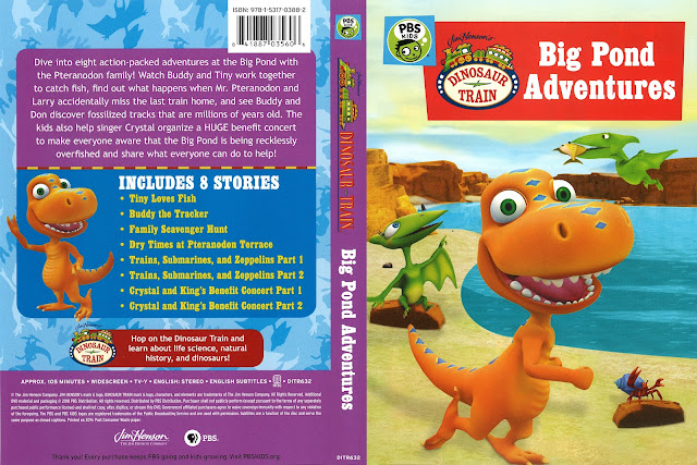 Dinosaur Train: Big Pond Adventures DVD Cover