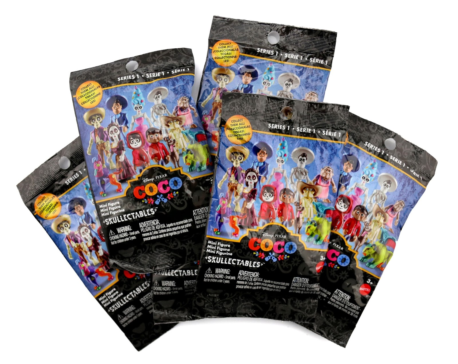 pixar coco blind bags skullectables codes