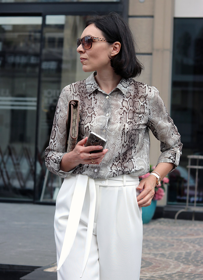 Molton bluzka elegancka