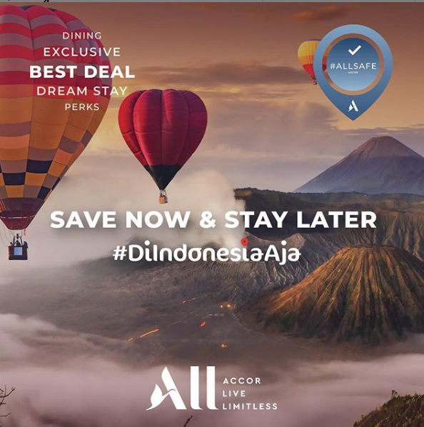Save Now Stay Later with Accor