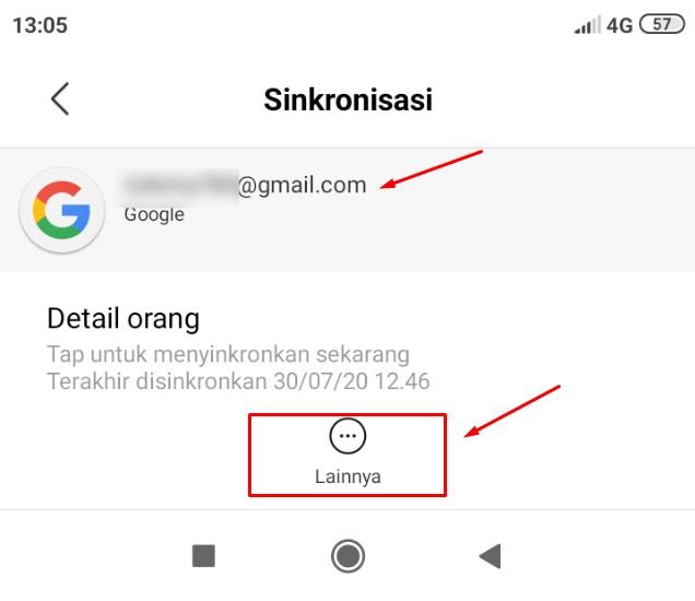 Cara Menghapus Google Akun Di Hp Redmi 7 A