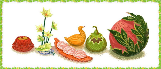 Vegetable And Fruit Carving Pictures