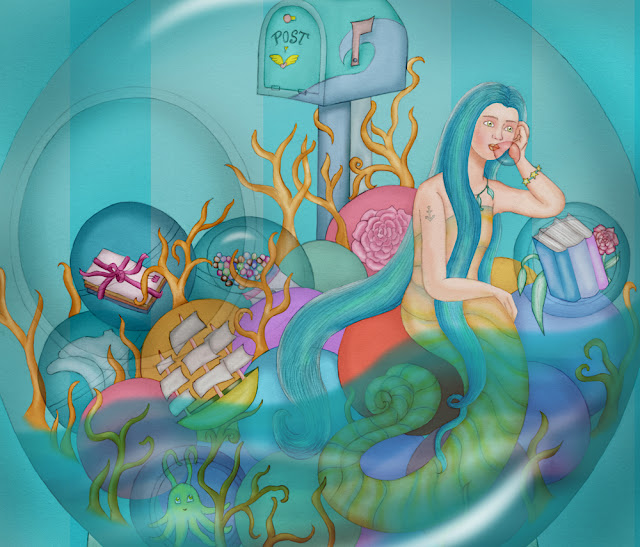 'A mermaid's dream: letters from the world'
