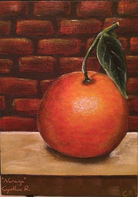 Naranja, Cynthia R. Arte don y pasión