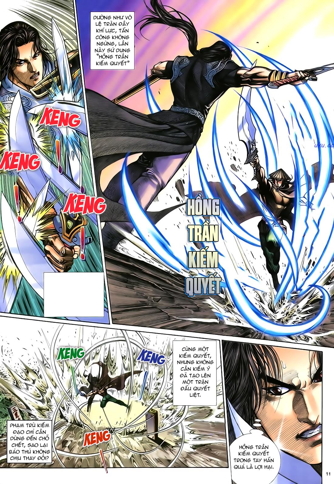 Anh hùng vô lệ Chap 21 trang 12