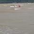 Trak pikap tenggelam di Tanjung Lumpur