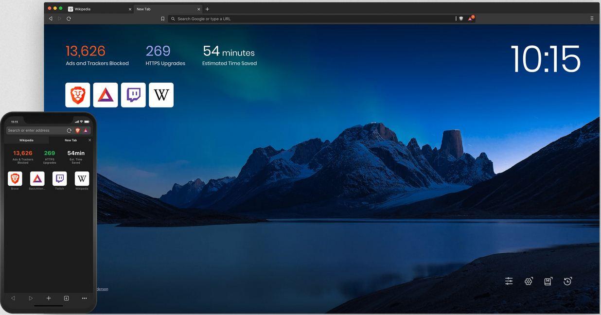 تحميل متصفح brave browser للكمبيوتر