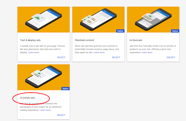 tutorial cara pasang iklan google ansense dalam artikel