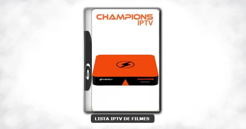 Azamerica Champions IPTV nova atualização com melhorias na estabilidade do sistema V1.28