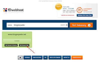 Cara Membeli Domain TLD di IDwebhost Lengkap 23