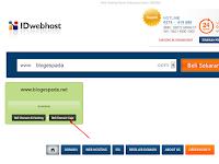 Cara Membeli Domain TLD di IDwebhost Lengkap