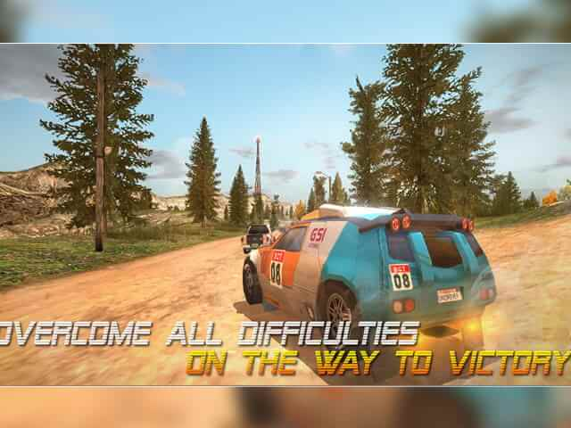 لعبة السيارات Driver HD Dirt Rally