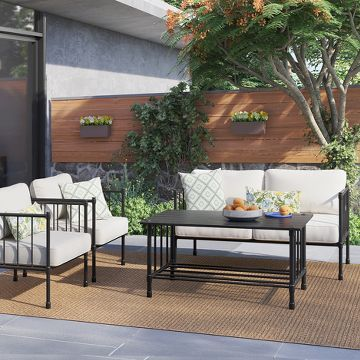 Stylish Outdoor Patio Sofas Amp Sectionals Love My Simple Home