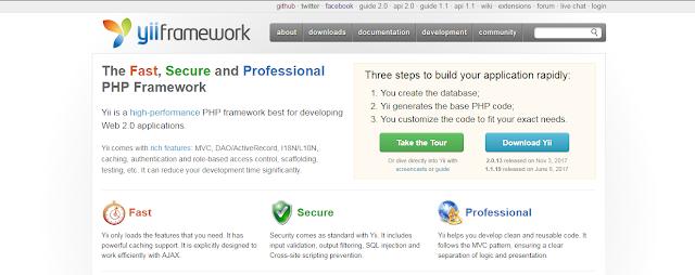 yii framework php