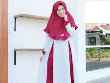 Coming Soon Gamis Set Jilbab dan Gamis Bermotif
