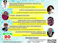 Seminar Kesehatan Haji Kapuas 20 Oktober 2019