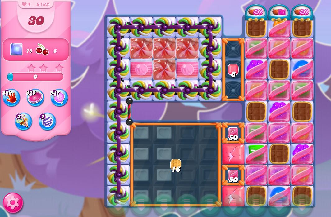 Candy Crush Saga level 8182