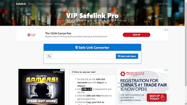 Premium Kompi Safelink V3 Blogger Template