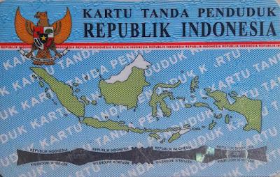 Ukuran KTP dan E-KTP Indonesia dalam cm, mm, inch