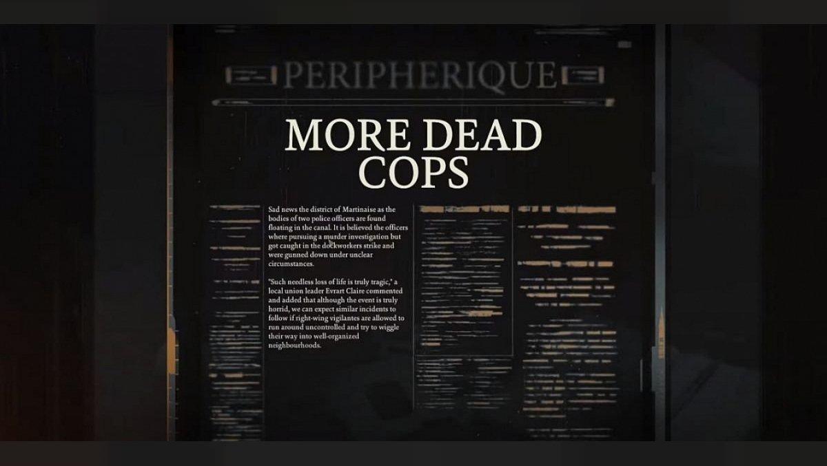 More Dead Cops