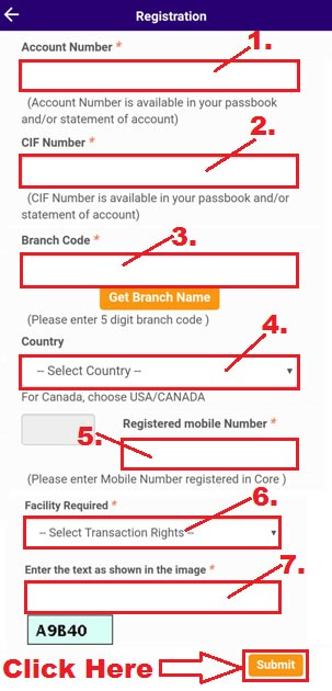 how to register on sbi anywhere app