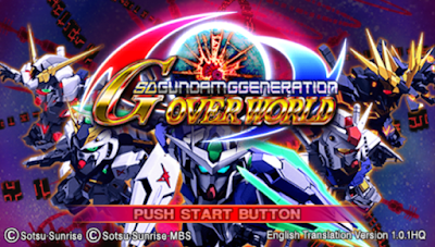Download SD Gundam G Generation Overworld ISO/CSO PSP PPSSPP High Compressed