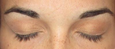 hnědé oční stíny návod