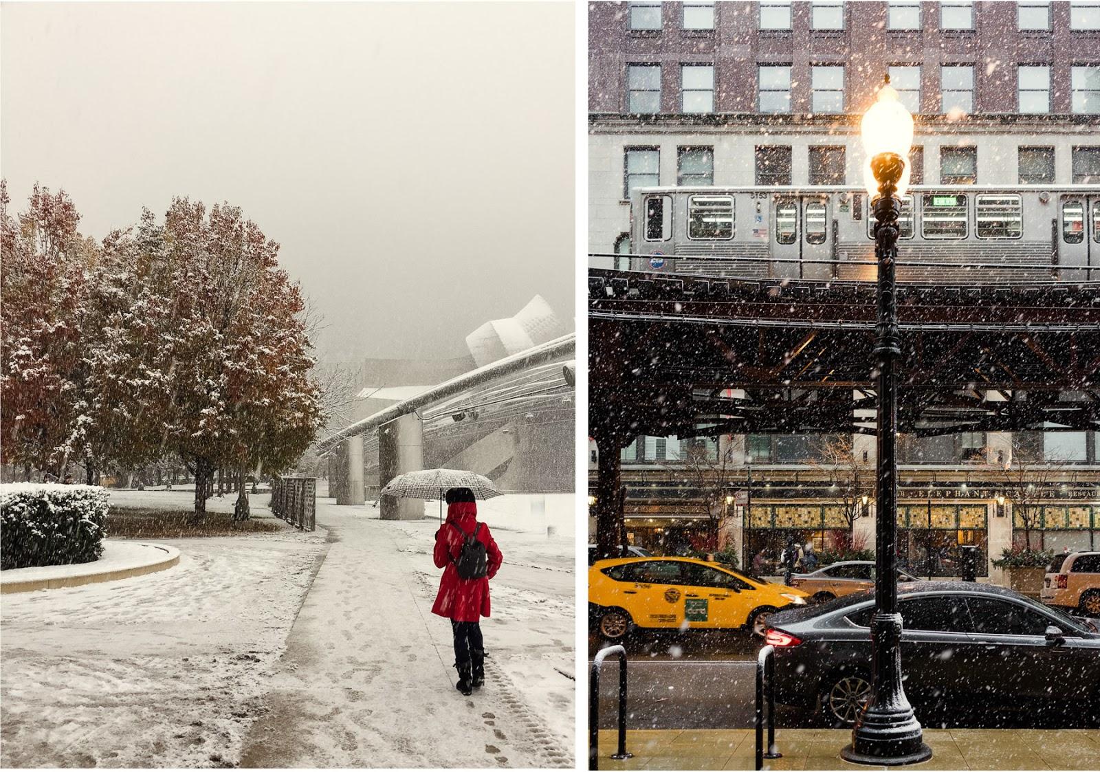 Chicago nieve