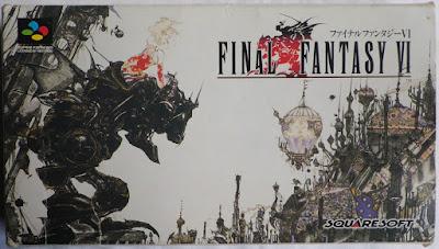 Final Fantasy VI (Jap) - Caja delante