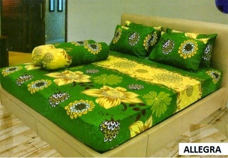 Sprei Lady rose motif Allegra