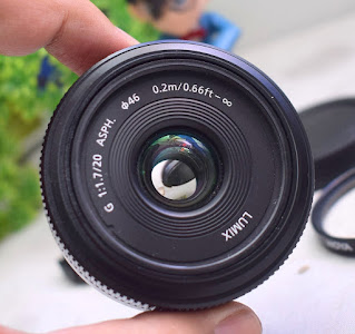 Lensa Lumix 20mm f1.7 Bekas