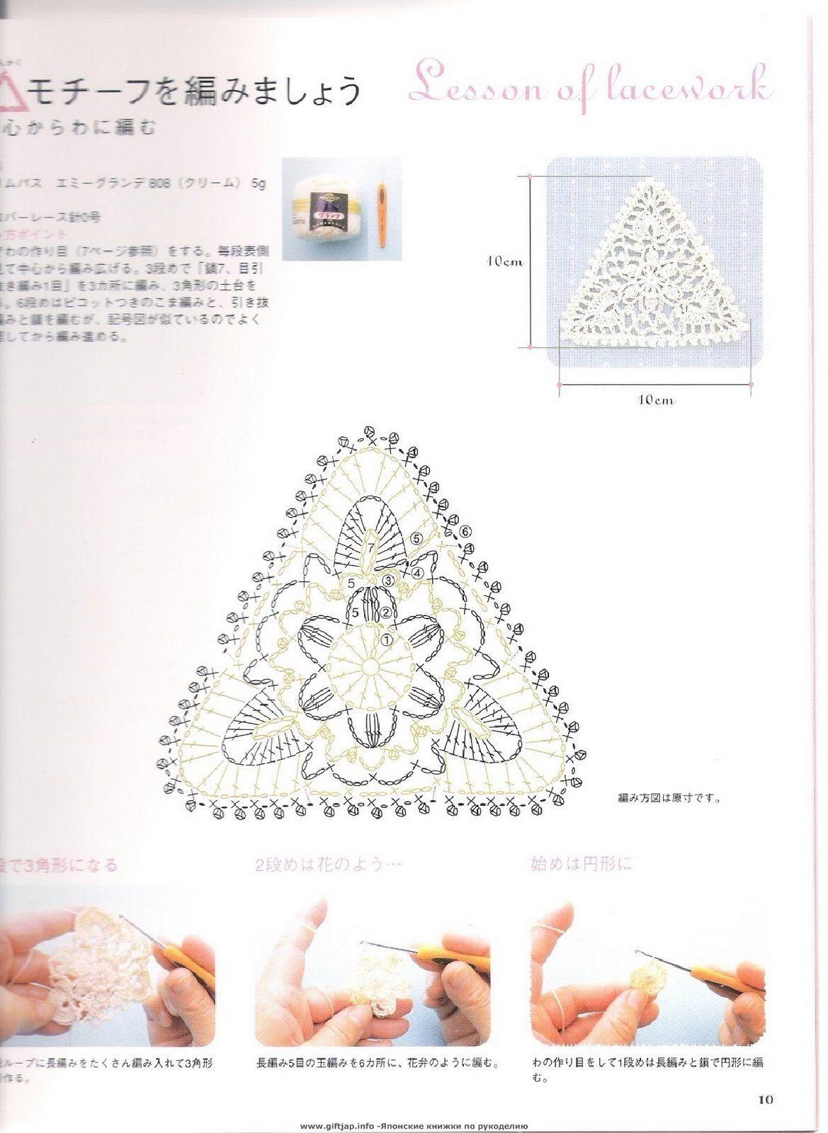Como hacer un Triangulo de Crochet