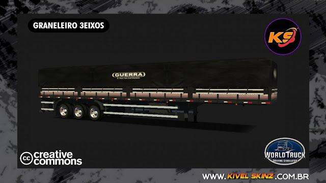 GRANELEIRO 3EIXOS - GUERRA BLACK