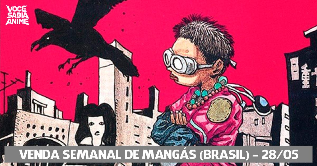 Ranking semanal de vendas de mangás no Brasil - 28-05