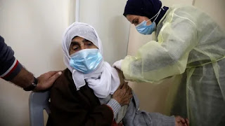 Israel will give 1 million doses of covid vaccine to the Palestinians
