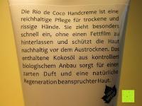 Information: KOKOSOEL Handcreme rio de coco CMD 100 ml