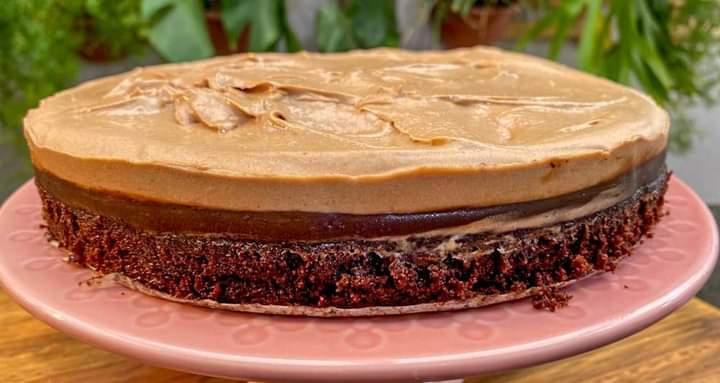 Bolo de Chocolate com Caramelo