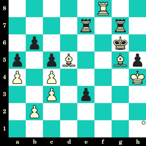 Les Blancs jouent et matent en 2 coups - Boris Spassky vs Arnulf Westermeier, Allemagne, 1982