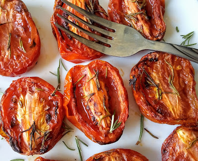 Roasted Tomatoes Made In The Air Fryer