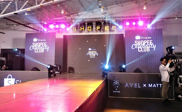 Shopee Celebrity Club and AvelxMatteo Launch - a grand gathering of celebrities