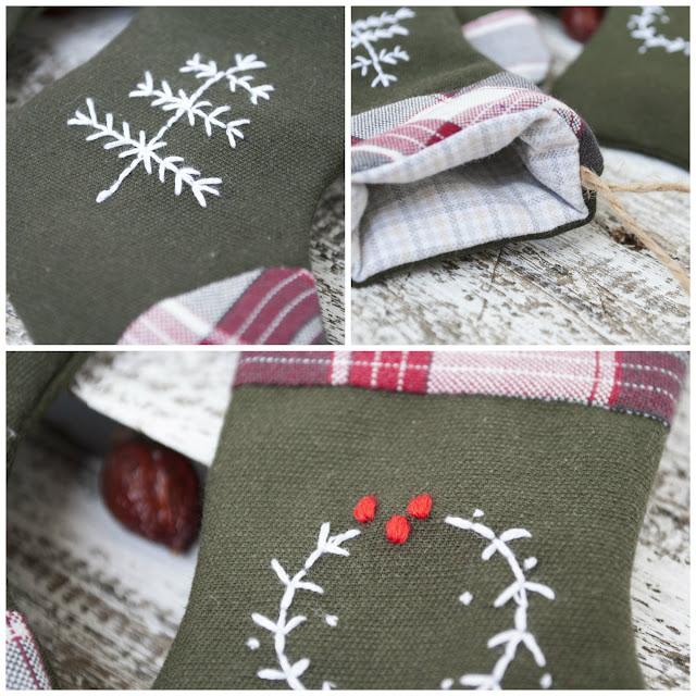 рождественский носок мк