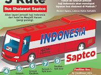 Bus Sholawat Mekkah 24 jam Siap Layani Jemaah Haji Indonesia 2019